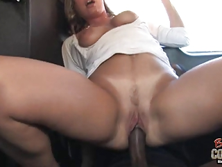 white mommy joey lynn used by not her dark son on