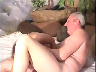 grandpapa receives laid