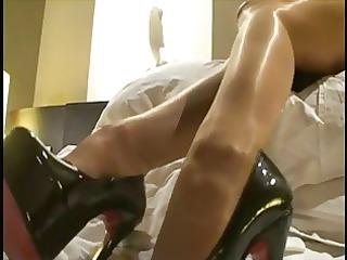 lgh - german glanz strumpfhose und heels