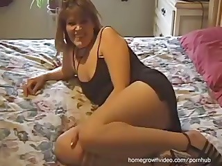 homemade clip of this threesome with brunette