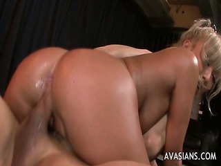 tattoo oriental with enormous nails acquires anal