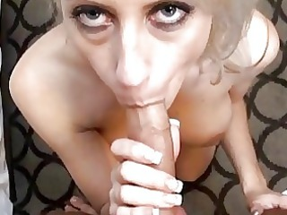 breasty blonde milf with amazing wazoo does