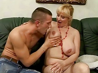 lusty breasty granny fucking with juvenile man