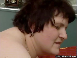 wicked fat woman acquires concupiscent getting her