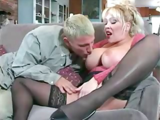 breasty milf acquires the naive guy