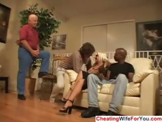 cuckold wife jizzed on