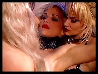 lesbos getting a threeway