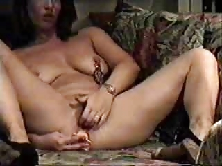 my kinky mommy home alone masturbating