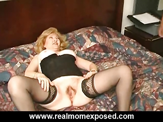 busty aged drilled hard at the motel