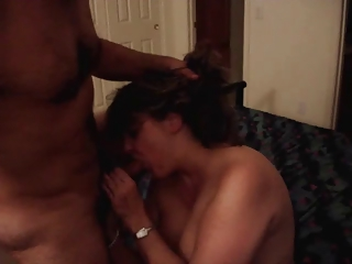 mature gf cocksucking deepthroat blowjob
