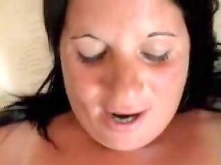 my hot wife getting her cum-hole slammed