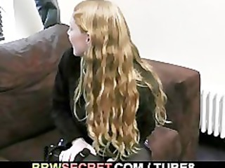 his wife leaves and he is copulates blond fatty