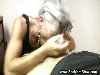 aged lady likes engulfing yong boys hard jock