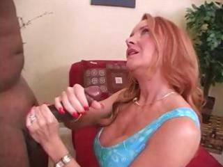 aged redhead janet mason is jerking off and