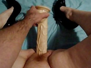 large vibrator in my wife