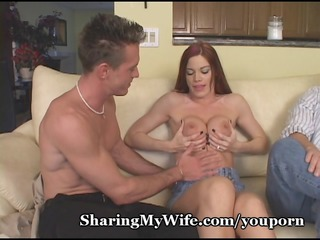 fiery redhead wifey with valuable tits