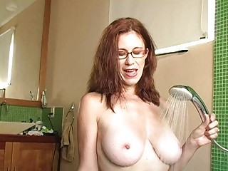 naughty redhead d like to fuck with glasses