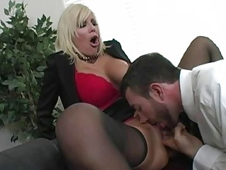 astonishing blonde d like to fuck with large bra