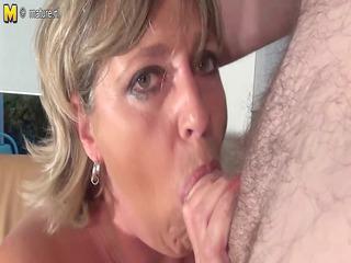 big breasted grandma monieka gets down and impure