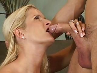 blond milfs ball licking blowjob act
