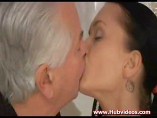 older fellow fuck her anal