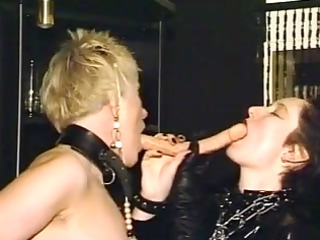 aged lesbo honeys toying each other