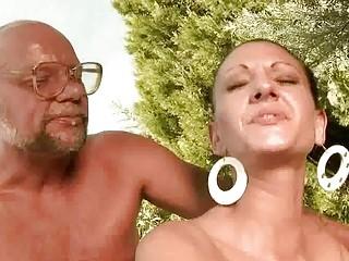 old man fucking hot girl pretty hard