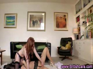 two british aged lesbo ladies in nylons