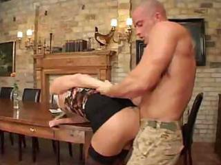 mature mama in nylons sucks jock and acquires