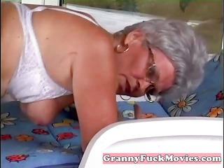 chap pounds granny her mature beaver