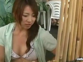 beauty and wife have a sex massage by geek in