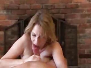 mature handjob with fantastic ejaculation on gym