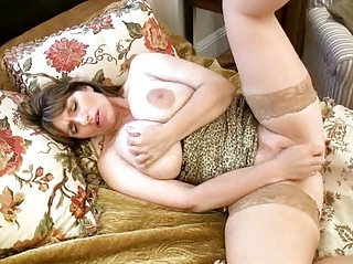 super breasty milf enjoys her huge love bubbles