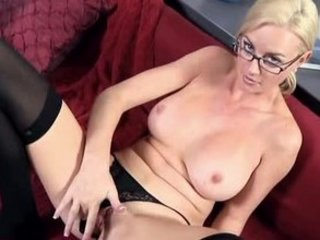 office mother i works pussy to big o