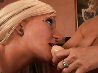 hawt older blondes playing and toying