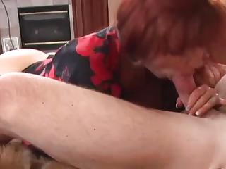 sexy large tit older anal